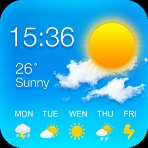 GO Weather  - نرم افزار هواشناسی گو اندروید