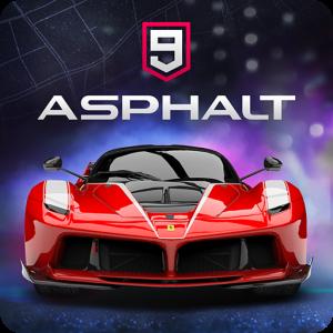 Asphalt 9: Legends - بازی آسفالت 9 برای اندروید + دیتا