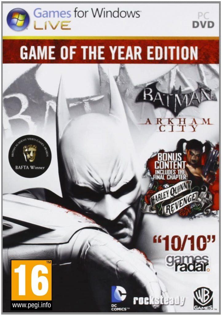 Batman Arkham City GOTY - دانلود بازی بتمن آرکام سیتی برای کامیپوتر