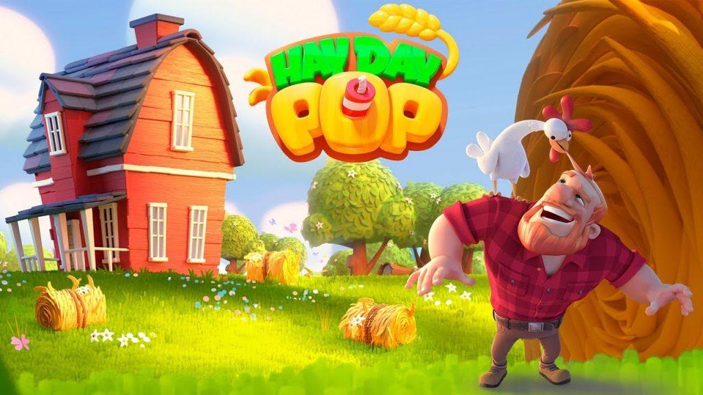 Hay Day Pop - دانلود بازی هی دی پاپ برای اندروید